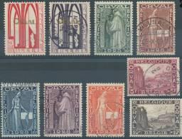 N° 258/66, OBL/USED, TB, Première Orval, Série Complète, Cote 85 Eur - Gebraucht