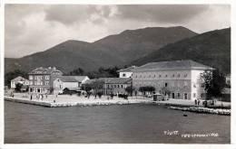 Montenegro TIVAT, Seltene Fotokarte Gelaufen 1933, Bahnstempel, Gute Erhaltung - Montenegro