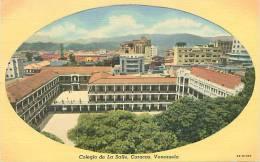VENEZUELA - CARACAS - Colegio De La Salle (C.T. Art-Colortone, 9B-H1006) - Venezuela