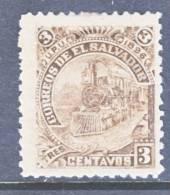 El Salvador 157d  *  Original  No Wmk.  TRAIN - El Salvador