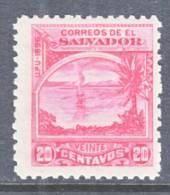 El Salvador 157f J *  Original  No Wmk. - El Salvador