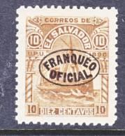 El Salvador O 17  *  Original  Wmk. - El Salvador