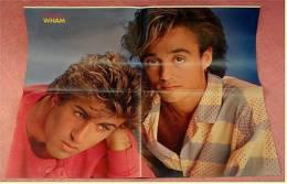 Musik Poster : WHAM  -  Rückseitig 3-D- Poster Evelyn Thomas - Ca. 1982 Aus Der Popcorn - Manifesti & Poster