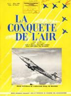 "Revue  "" LA CONQUETE DE L'AIR  "" N° 3 Mars 1958 - Aéro-club De Belgique - Aviation"
