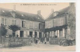 60 // HARAMONT   Maison Damy Sur La Place   ANIMEE Photo G Duclos - Sonstige Gemeinden
