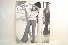 Carton Fin Publicitaire Années 1960 - 1970. Bel-Fa Pants Patte D'eph, Vêtements Mode Textiles Design Pub Plv - Placas De Cartón