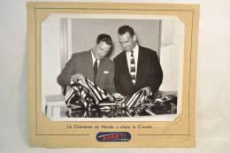 Carton/photo Publicitaire Années 1960 - 1970, Cravates AVANTI. Vêtements Mode Textiles Design Pub Plv - Placas De Cartón