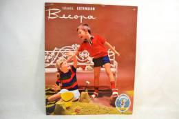 Plaque Publicitaire Années 1960 - 1970, BECOPA. Vêtements Mode Textiles Design Pub Plv - Placas De Cartón
