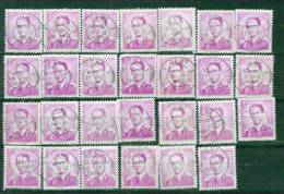 BelgiëY&T Nr° 1076 ° 27 St. Ronde Stepel Gent 1 1963 - 1953-1972 Brillen