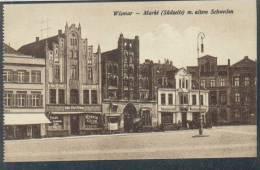 S10  /      Wismar Geschäfte Um 1915 - Wismar