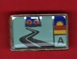 24384-pin's AD.Aurore.signé Pichard Saumur. - Trademarks