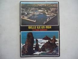 CPSM Grand Format   BELLE- ILE-EN -MER  -  Le Port Du Palais Et Les Aiguilles De PORT-COTON - Belle Ile En Mer
