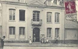 HAUTE NORMANDIE - 76 - SEINE MARITIME - SAINT SAENS - Hôtel De Ville Avec Animation - Saint Saens