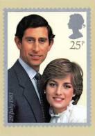 Lady DIANA Spencer Mit Prince Of Wales, Nicht Gelaufen 1981 - Frauen