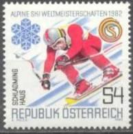1982 Alpine Skiweltmeisterschaften ANK 1726 / Mi 1695 / Sc 1202 / YT 1524 Postfrisch/neuf/MNH - 1945-.... 2. Republik