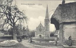 HAUTE NORMANDIE - 76 - SEINE MARITIME - SAINT OUEN BERTREVILLE - L'Eglise - Animation - Altri Comuni