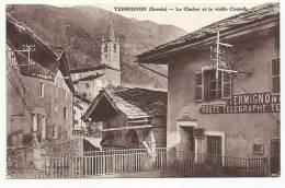 TERMIGNON - Le Clocher Et La Vieille Chapelle (poste - P.T.T.) - France