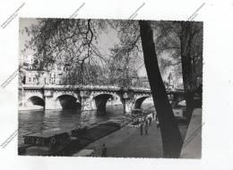 Photographie Professionnelle Originale PARIS Pont Quai Se Seine ( Péniche Batelier ) - Luoghi