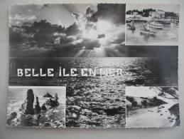 """Cpsm Grand Format  -  BELLE-ILE-EN-MER  -   LE""""GUEDEL"""" RENTRE AU PORT - PORT DE GOULPHAR- PORT-COTON - Belle Ile En Mer"""