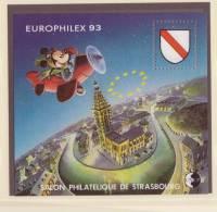 France - Bloc CNEP 1993 - N° 17 ** - EUROPHILEX - Salon Philatélique De Strasbourg - - CNEP