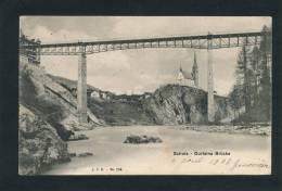 SUISSE -  SCHULS - Gurlaina Brücke - Switzerland