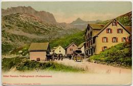 SWITZERLAND  Hotel Pension Tiefengletsch (Furkastrasse) U/ - Schweiz