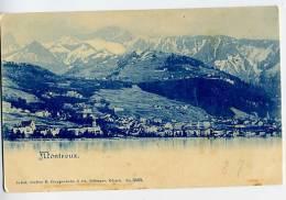 SWITZERLAND  Montreux U/B Postcard Unused - Schweiz