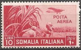 Somalia Italiana Nuovo**  1936  -  Ss. 26  £ 10 Posta Aerea - Somalia