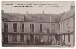 BAYEUX - Hôtel Du Lion D'Or, Alfred Huchez Ex Chef De Cuisine De Maisons Bourgeoises - Bayeux