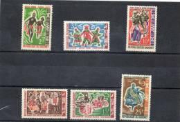 DAHOMEY : Danses Folkloriques (Somba, Nago,ateke, Des Nouhouessi, Des Sakpatassi) Folklore - Tradition - Benin – Dahomey (1960-...)