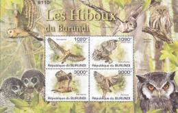 Burundi 2011 Postfris MNH Owls - Burundi