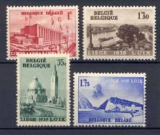 Belgio 1938 Unif  484/87 **/MNH VF - Unused Stamps