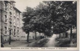 ( 43 )  MONISTROL SUR LOIRE Route D'Yssingeaux Et Gendarmerie - Monistrol Sur Loire