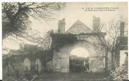 Vendée   : ILE DE  NOIRMOUTIERS  : La  Porte  Aux  Lions A La  Blanche - Ile De Noirmoutier