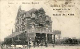 ORROIR - MONT DE L´ENCLUS - Hôtel-Restaurant Du Grand St-Martin  Camille BAUWENS - Kluisbergen