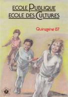 CONRAD. Course De Relais. Carte Postale Pour L´ Ecole Publique, Quinzaine 1987. Ecole Des Cultures. Pas Courante ! - Cartes Postales
