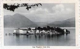 """Cartolina  D´epoca        """"  Lago Maggiore - Isola Bella """" - Verbania"""