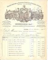 Angers Filatures,corderies,tissages Bessoneau 1905 - Textile & Clothing