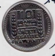 ** 10 FRANCS TURIN 1946 GROSSE TETE RAMEAUX COURTS ETAT  TTB+ **27** - France
