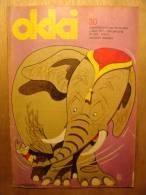 REVUE ENFANT En NEERLANDAIS - OKKI N°30 - 3 AVRIL 1971 - TROMPETJE OP VAKANTIE MOREAU - KIMO EN KAJA - Revues & Journaux