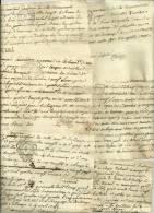 36 PAIEMENTS Et RECUS De La COMMUNAUTE D´UBRAYE - B.A. Dont 25 Avec CACHETS GENERALITE PROVENCE 1781/1782  Div.travaux - Seals Of Generality