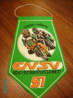 RUSSIA  USSR  ESTONIA PENNANT  1981   MOTOR BIKE  MOTORCYCLE  RACING - Motos