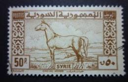 SYRIA 1946-47: Scott 325 / Y&T 7, O - FREE SHIPPING ABOVE 10 EURO - Syrie