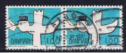 DK+ Dänemark 1984 Mi 816 (Paar) - Usado
