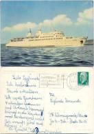 AK Schiff, Eisenbahnfährschiff MS Sassnitz - Steamers