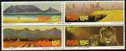 South Africa - 1975 Tourism Set (**) # SG 388a , Mi 484-487 - Nuovi