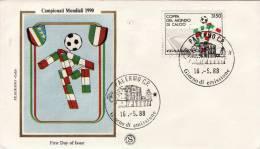 COMMEMORATIVI  /  Cover _ Lettera  - Lire 3150  Isolato - 1981-90: Storia Postale