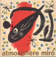 ATMOSPHERE MIRO JAMES JOHNSON SWEENEY PHOTOSCOPE GOMIS PRATS EDITORIAL RM BARCELONA AÑO 1959  PRIMERA EDICION - Old Books