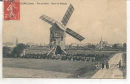 Sandillon, Vue Générale, Route De Savigny (moulin à Vent) - France