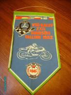 RUSSIA  USSR  ESTONIA PENNANT   1982  MOTOR BIKE  MOTORCYCLE  RACING - Motorfietsen